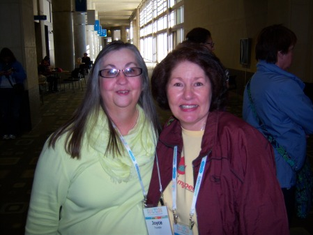 Quiltcon 2015 - Joyce Franklin & Me