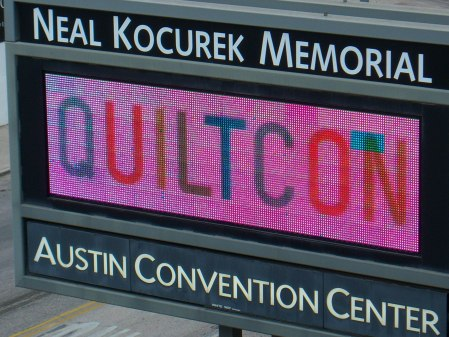 Welcome to Quiltcon 2015 Austin Texas