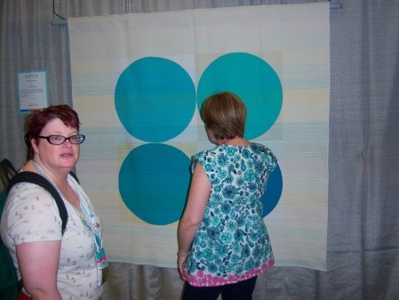 Quilcon 2015 Minimalist - Breath by Leanne Chahley Edmonton MQG