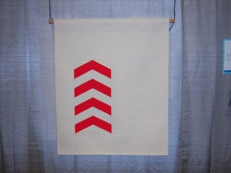 Quilcon 2015 Minimalist - Ascend by Nicole Neblett Triangle MQG