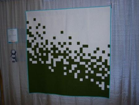 Quilcon 2015 Minimalist - Pixel Pusher by Caro Sheridan Boston MQG