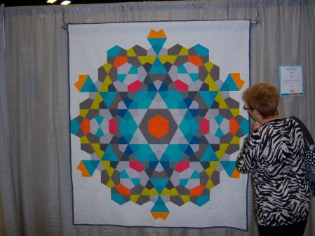 Quiltcon 2015 Piecing - Bauble by Emily Cier Seattle MQG