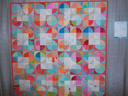 Quiltcon 2015 Piecing - Squaring The Circle by Jo Avery Edinburgh MQG