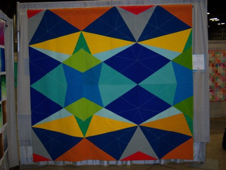 Quiltcon 2015 Piecing - Fractal Kaleidoscope by Katie Larson Kansas City MQG