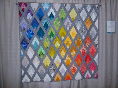 Quiltcon 2015 Piecing - Flame by Rebecca Bryan Houston MQG