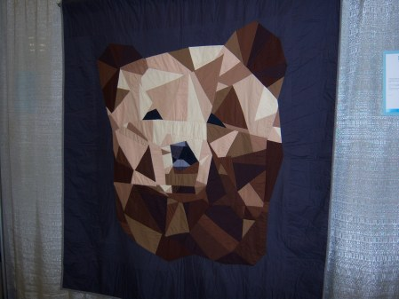 Quiltcon 2015 Piecing - Bear Face by Jenna Richardson Santa Barbara MQG