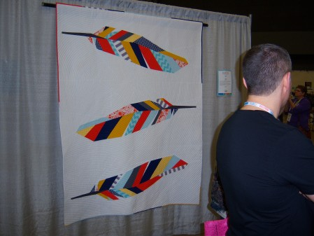 Quiltcon 2015 Piecing - Feathers by Shannon Page Dallas MQG