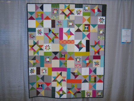 Quiltcon 2015 Piecing - Starfall II by Faith Jones Individual MQG