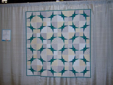Quiltcon 2015 Piecing - Celing Tiles by Amy Gamo Indianapolis MQG