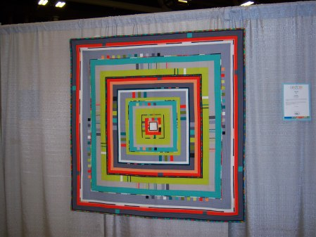 Quiltcon 2015 Piecing - City Center by Angie Henderson St Louis MQG