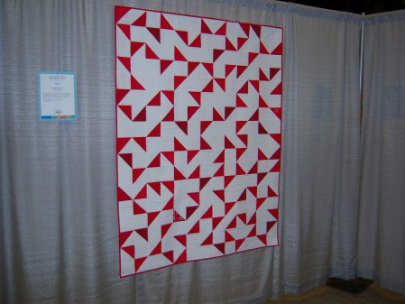 Quiltcon 2015 Piecing - Anni Albers Orange Chair by Martha Peterson Seattle MQG