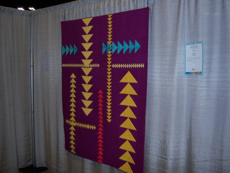 Quiltcon 2015 Piecing - Modern Migration by Sue Bouchard San Diego MQG