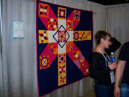 Quiltcon 2015 Piecing - Moccasin by Anne Marie Chany Individual MQG