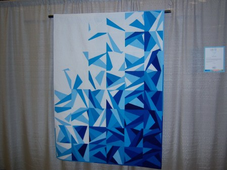 Quiltcon 2015 Piecing - Icy Water by Amy Garro Indianapolis MQG