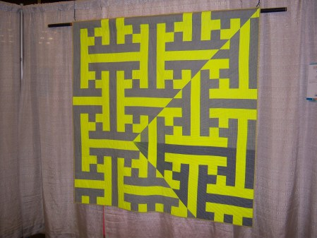 Quiltcon 2015 Piecing - Disruption by Barbara Lockwood Individual MQG