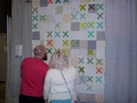 Quiltcon 2015 Piecing - Knit Snippet by Lofje Meijknecht Individual MQG