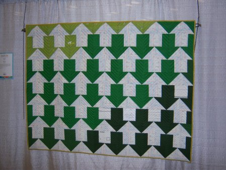 Quiltcon 2015 Piecing - Profits & Losses by Gina Pina Austin MQG