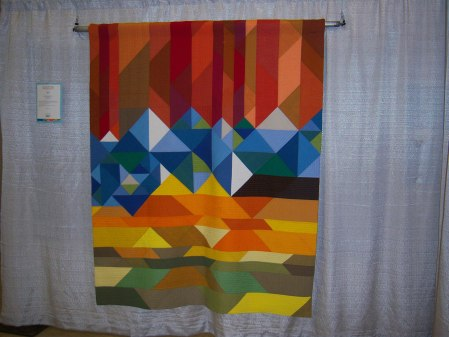 Quiltcon 2015 Piecing - Welcome To Colorful Colorado by Katie Larson Kansas City MQG