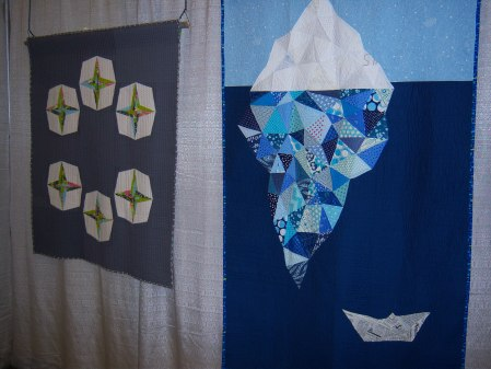 Quiltcon 2015 Piecing - Starry Eyed by Caroline Fairbanks Crichfield Individual MQG and Iceberg by Crystal McGann Canberra MQG
