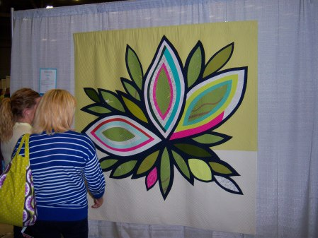 Quiltcon 2015 Improvisation - Full Bloom by Latifah Saafir Los Angeles MQG