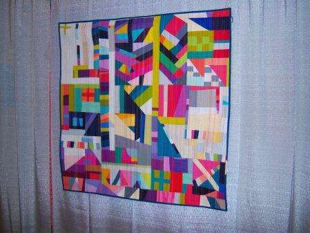 Quiltcon 2015 Improvisation - The Rabbit Hole by Nydia Kehnie Individual MQG