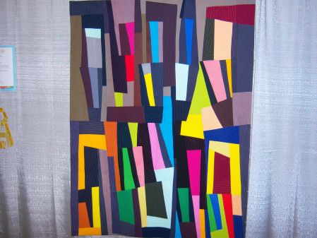 Quiltcon 2015 Improvisation - Aleph Bet by Serena Brooks Los Angeles MQG