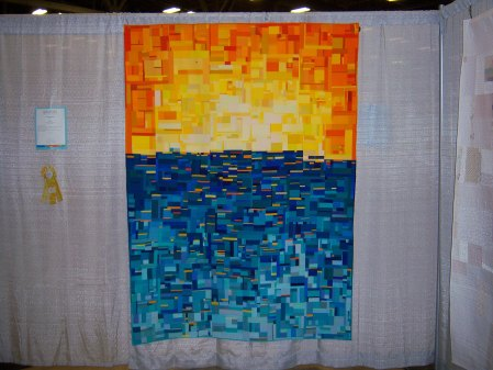 Quiltcon 2015 Improvisation - For Tonya by Emily Coffey Ashville MQG