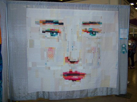 Quiltcon 2015 Improvisation - Face #1 by Melissa Averinos Individual MQG