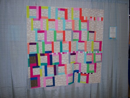 Quiltcon 2015 Improvisation - A Dance For Emily by Rossie Hutchinson Ann Arbor MQG