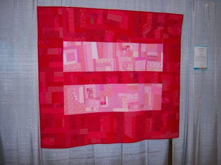 Quiltcon 2015 Improvisation - From The Day Forward by Tina Michalik South Bay Area MQG