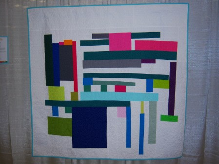 Quiltcon 2015 Improvisation - Abby's Abstract II by Amanda Jean Nyberg Individual MQG