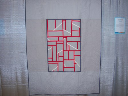 Quiltcon 2015 Improvisation - Intersection by Neva Asinari Central Jersey MQG