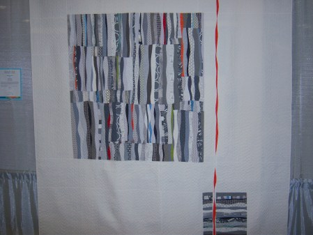 Quiltcon 2015 Improvisation - Fade Into Gray by Stephanie Ruyle Individual MQG