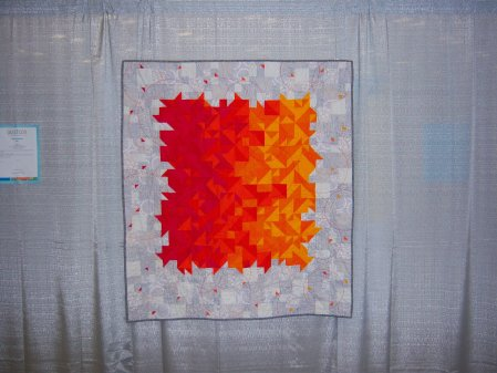 Quiltcon 2015 Improvisation - Juicy by Charlotte Newland Individual MQG