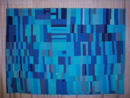 Quiltcon 2015 Improvisation - Abyuna Al Minya by Patricia Lutteral Individual MQG