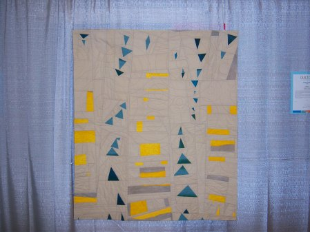 Quiltcon 2015 Improvisation - Northwest by Stacey Sharman Individual MQG