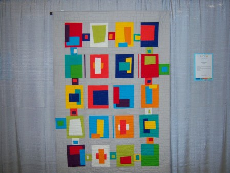 Quiltcon 2015 Improvisation - Blocks From The Crayon Box by Carolyn Griffith Individual MQG