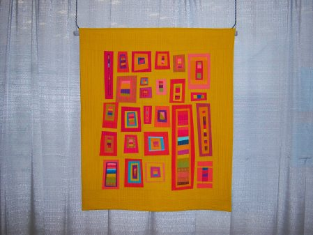 Quiltcon 2015 Improvisation - Las Ventanas by Kristine Shields Central Oregon MQG