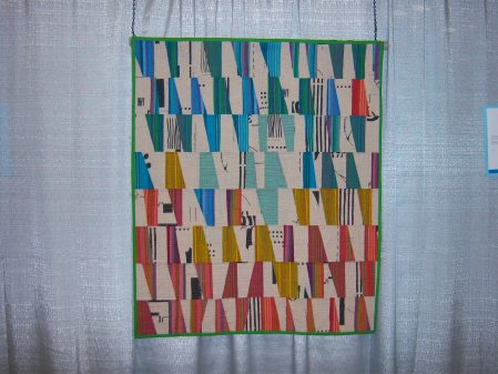 Quiltcon 2015 Improvisation - Arne by Rossie Hutchinson Ann Arbor MQG