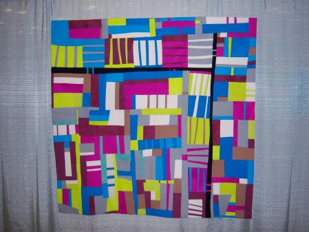 Quiltcon 2015 Improvisation - Transposition by Anne Hammond Individual MQG