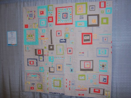 Quiltcon 2015 Improvisation - Tune In Next Week by Chawne Kimber Individual MQG