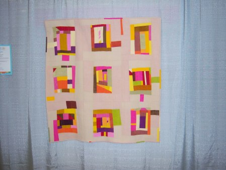 Quiltcon 2015 Improvisation - Through The Open Window by Amy Anderson Asheville MQG