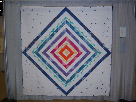 Quiltcon 2015 Improvisation - The White Quilt by Shannon Page Dallas MQG