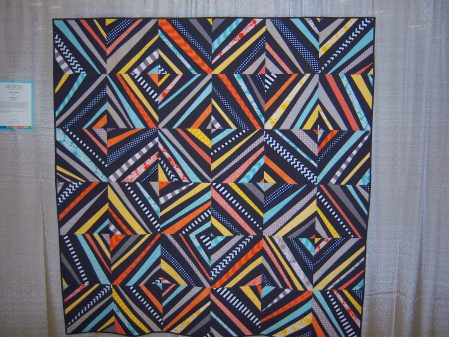 Quiltcon 2015 Improvisation - Spiraling Out Of Control by Christa Watson Individual MQG