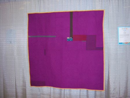Quiltcon 2015 Improvisation - I'm A Fan Of Fabric by Rachel Kerley Portland MQG