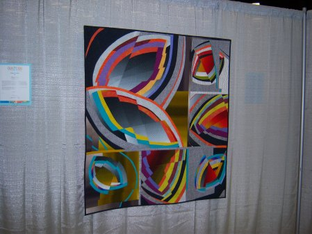 Quiltcon 2015 Improvisation - Shifting Impressions by Marianne Hacik Edmonton MQG