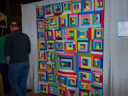 Quiltcon 2015 Improvisation - You Can't Rush Art by Amanda Jean Nyberg Individual MQG