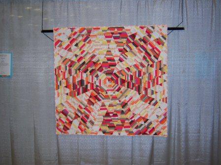 Quiltcon 2015 Improvisation - Sunburst Quilt by Tara Faughnan Individual MQG