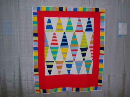 Quiltcon 2015 Improvisation - Bird's Eye View by Nathalie Bearden Individual MQG