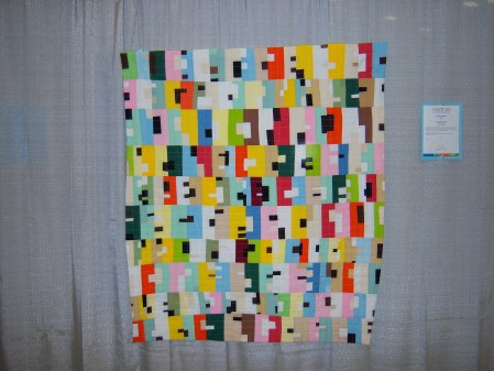 Quiltcon 2015 Improvisation - Tidy Towns: Irish Houses by Andrew Steinbrecker Individual MQG